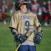 Pat Vachon of St Bernards reacts after having a point bank shot on net saved in the Central/Western Mass Div III quarterfinals held at the Bernardian Bowl. The Bernardians defeated Pope Francis of Springfield 14-9. SENTINEL&ENTERPRISE / Jim Marabello