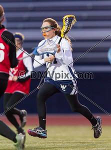 St John's @ W-L Girls JV Lacrosse (07 Mar 2014)