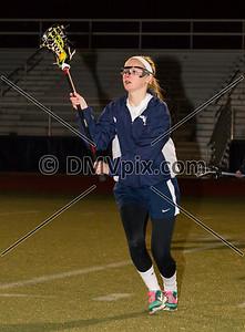 St John's @ W-L Girls Var Lacrosse (07 Mar 2014)
