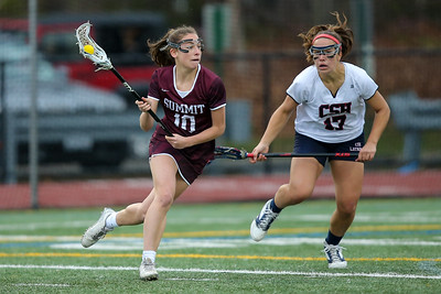 Summit vs Cold Spring Harbor Girls Lacrosse. Credit: Chris Bergmann Photography