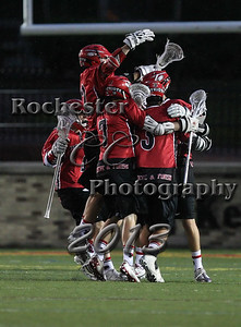 May 28, 2013;  Rochester, NY; USA; Webster Thomas boy's lacrosse vs. Penfield at Growney Stadium  Photo: Christopher Cecere