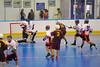 Tuscarora Tomahawks Jordan Wiliams (19) scores against the Onondaga Redhawks at the Onondaga Nation Arena near Nedrow, New York on Saturday, June 23, 2012.