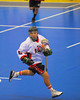Onondaga Redhawks host the Tuscarora Tomahawks at the Onondaga Nation Arena near Nedrow, New York on Saturday, June 23, 2012.