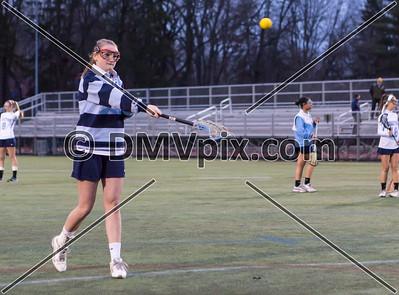 West Springfield @ Yorktown Girls Varsity Lacrosse (13 Mar 2015)
