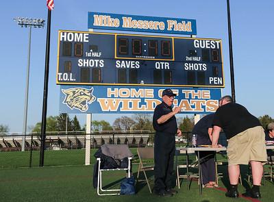 Head Coach Mike Messere, 0056