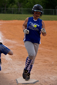 Rylee adds another run to the scoreboard