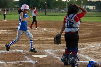 Ceci comes around to score after a walk and some heads-up base running