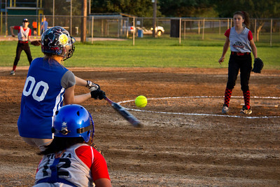 Taylor hits a sharp grounder back to the pitcher