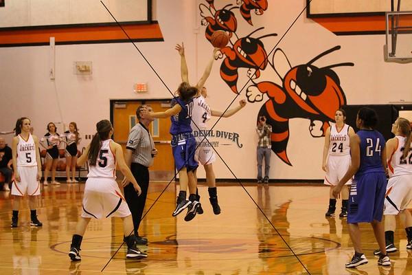 Lady Jackets Basketball vsLampasas