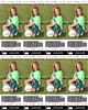 Alyssa Sports Ticket Soccer 8x10