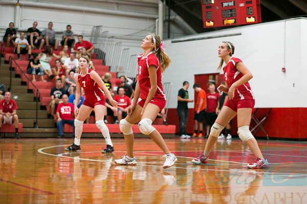 Lady Lions Volleyball 2012