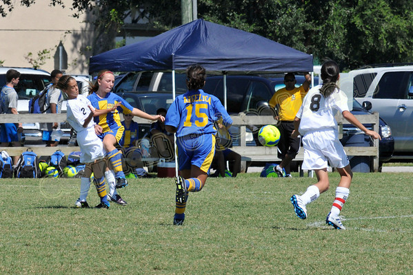 Lady Predators Soccer - Bazooka Tournament