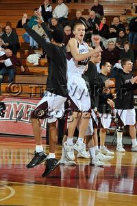 Easton, PA, 1/14/2009: Lafayette College Mens Basketball -vs- Colgate.