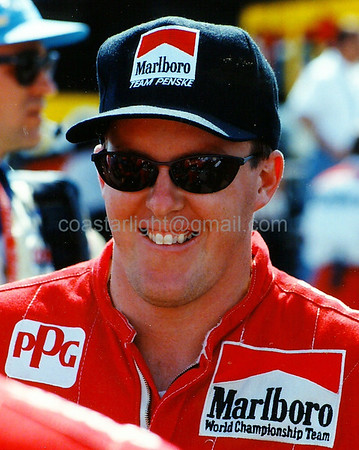 Paul Tracy (Laguna Seca - Monterey, CA - Oct. 9, 1994)
