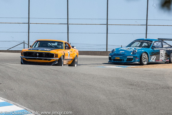 Laguna Seca with Sacramento Mustang October 2013