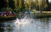 Lake Jumping at Hume Lake,  CA (14)