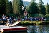 Lake Jumping at Hume Lake,  CA