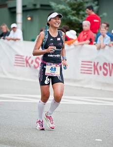 IronmanLP-42 - Every time I saw this Pro woman, she was smiling.  Of course, she gets paid to smile