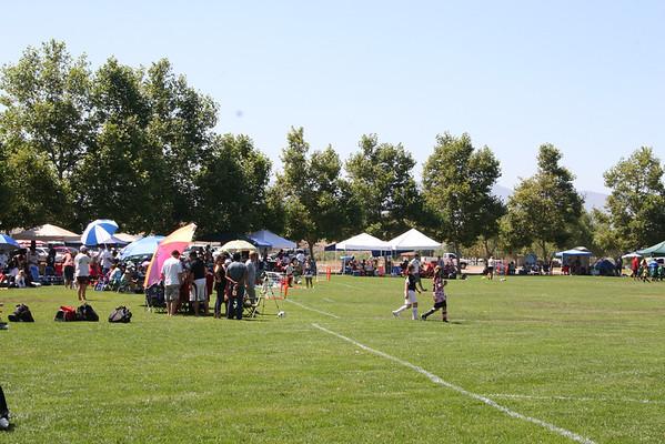 3 by 3 Soccer at Lake Skinner