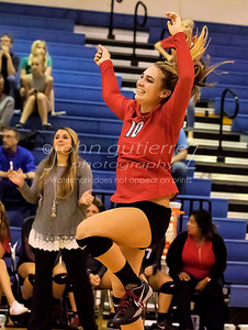 Lake Travis vs Leander Volleyball