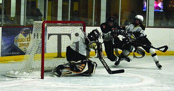 1-4-14 Lakeland Boys' Hockey vs. Chequamegon