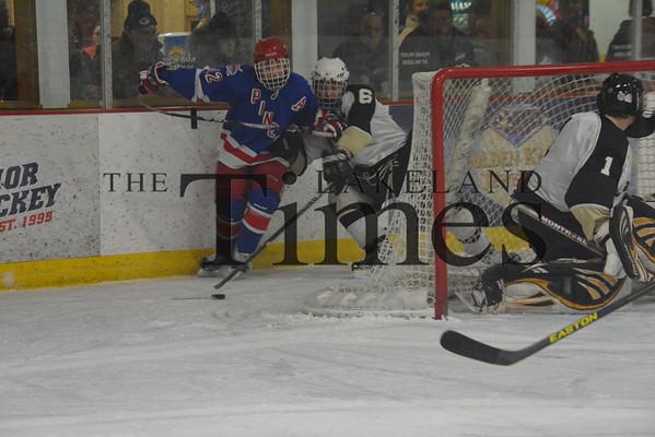 1-9-14 Lakeland Boys' Hockey vs. Northland Pines