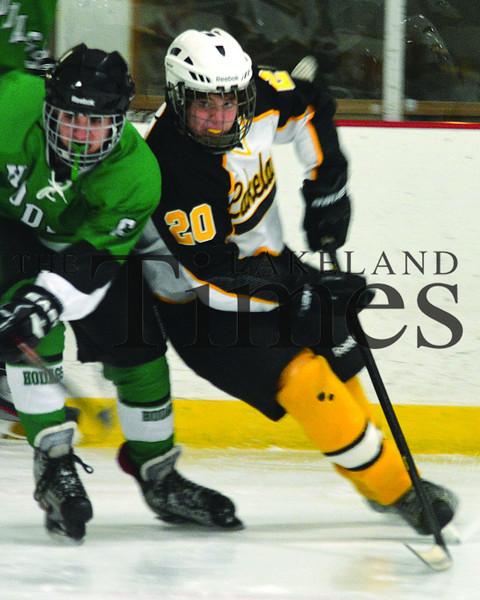 12-16-13 Lakeland JV Boys' Hockey vs. Rhinelander