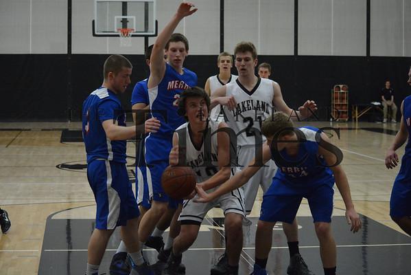2-1-14 Lakeland Boys' Basketball vs. Merrill