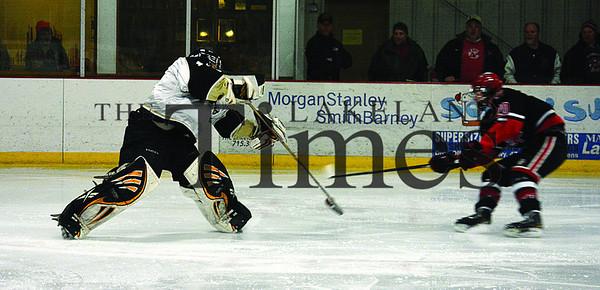 2-19-14 Boys' Hockey Playoffs vs. Wausau East