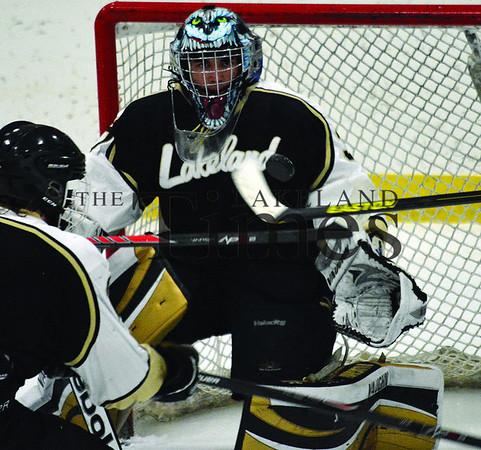 2-3-14 Lakeland Boys' Hockey at Rhinelander