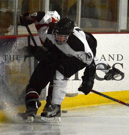 1-25-14 Lakeland Girls' Hockey vs. Chippewa Falls