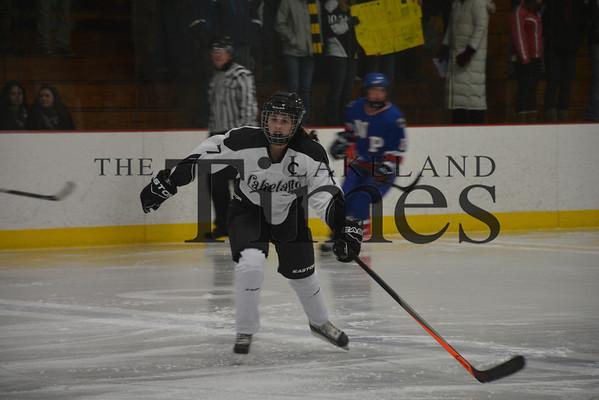 12-13-13 Lakeland Girls' Hockey vs. Northland Pines