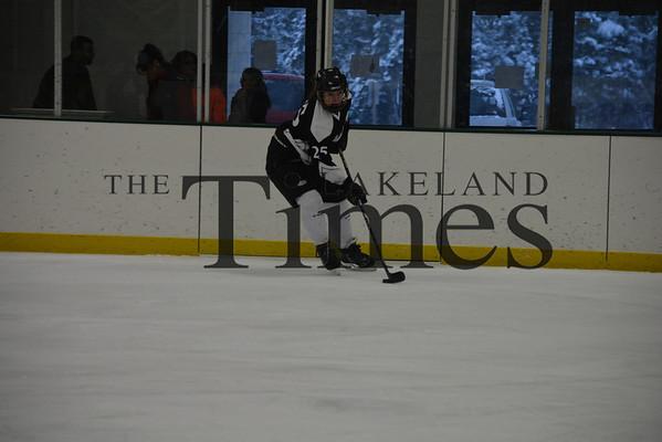 12-27-13 Lakeland Girls' Hockey vs. Marinette