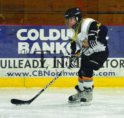 1-26-14 Northern Aces Hockey vs. Rhinelander