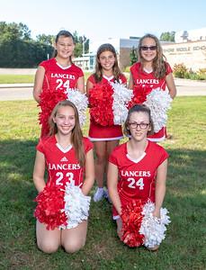 Niddle School Cheer team4160