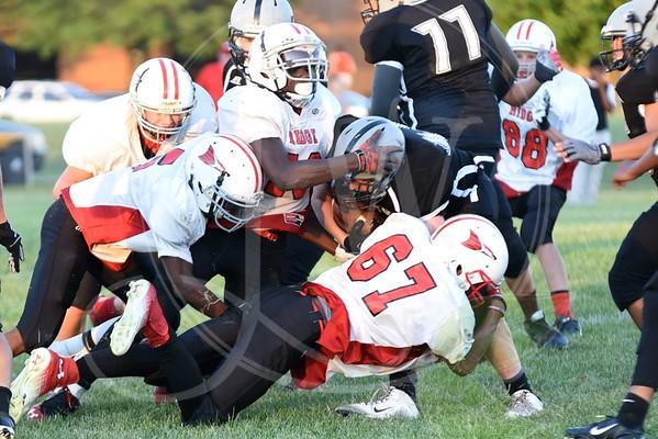 Ridge Football vs. Liberty (7th & 8th) - 9.23.15