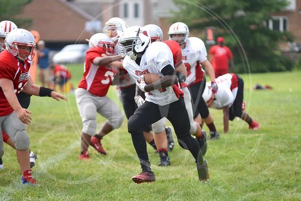 Ridge Football vs. White Oak (7th & 8th) - 8.29.15