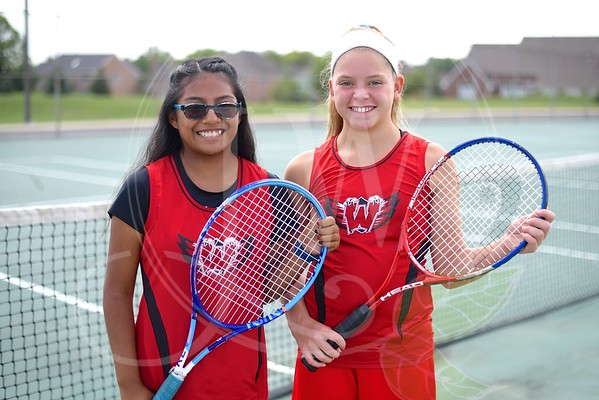 Ridge Girls Tennis vs. Princeton 9.12.16