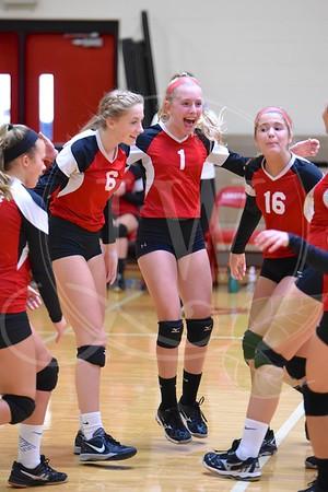 Ridge Girls Volleyball vs. Liberty - 9.15.16