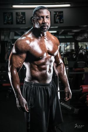 Lalo at Gym