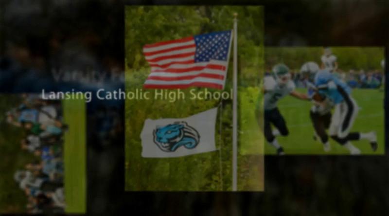 0000Lansing Catholic Varsity Football 9-25-10
