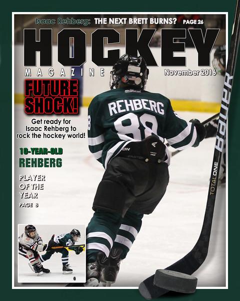 Isaac ~ Hockey Magazine Cover