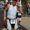 Marathon stage of the Lanzarote Ironman Triathlon 2009.  The long slog.