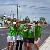 Supporters on the cycle stage of the Lanzarote Ironman 2009