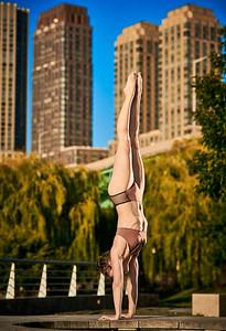 Sept.19,  2019 - New York, NY   Dancer Lara Michaels captured on Manhattan's West Side    Photographer- Robert Altman Post-production- Robert Altman