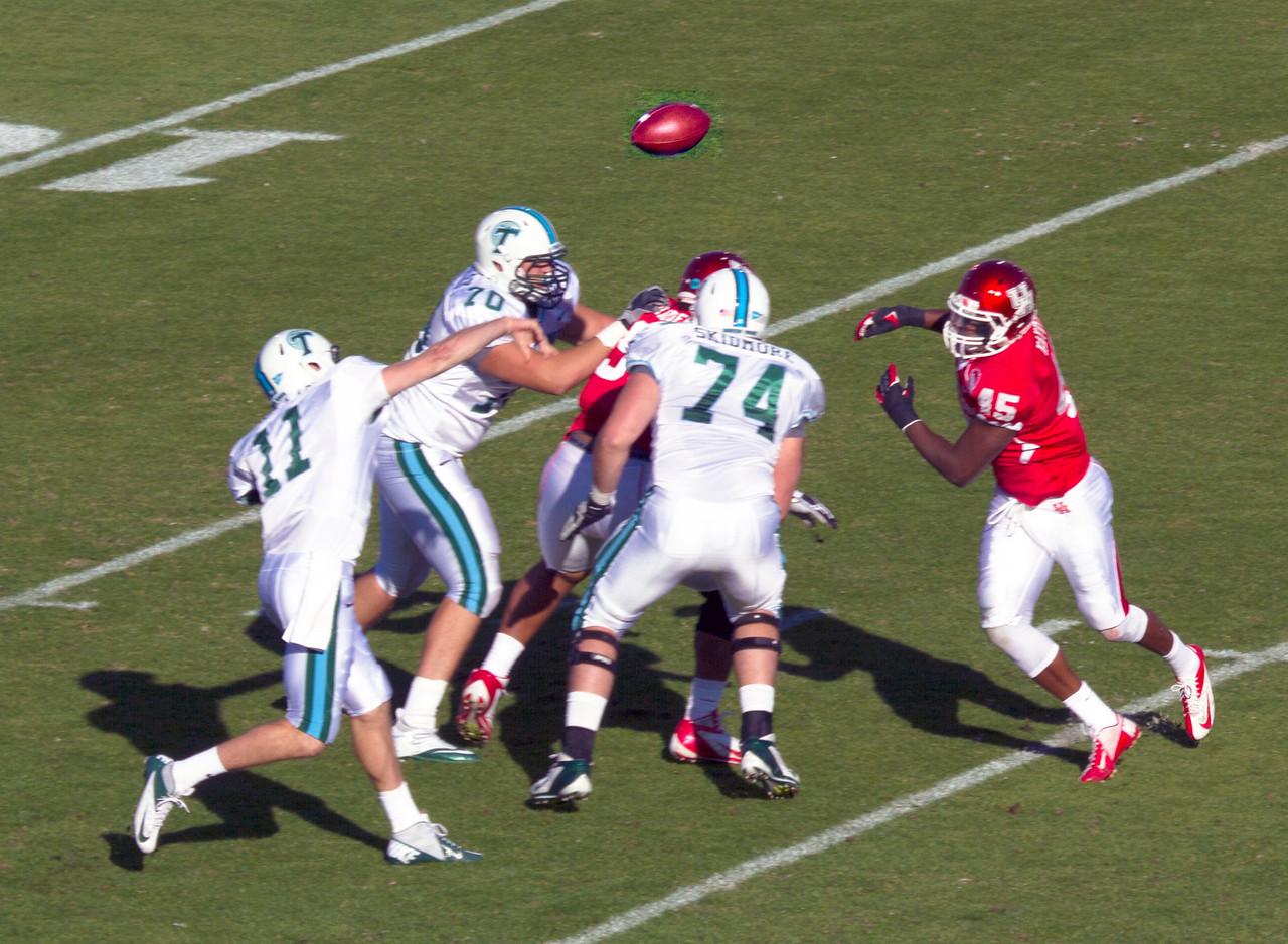 Griffin passes over Allen