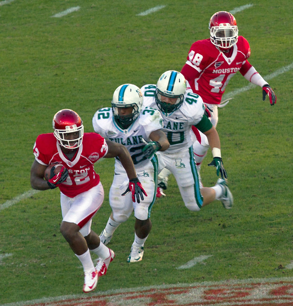 Tulane in hot pursuit of runner Butler