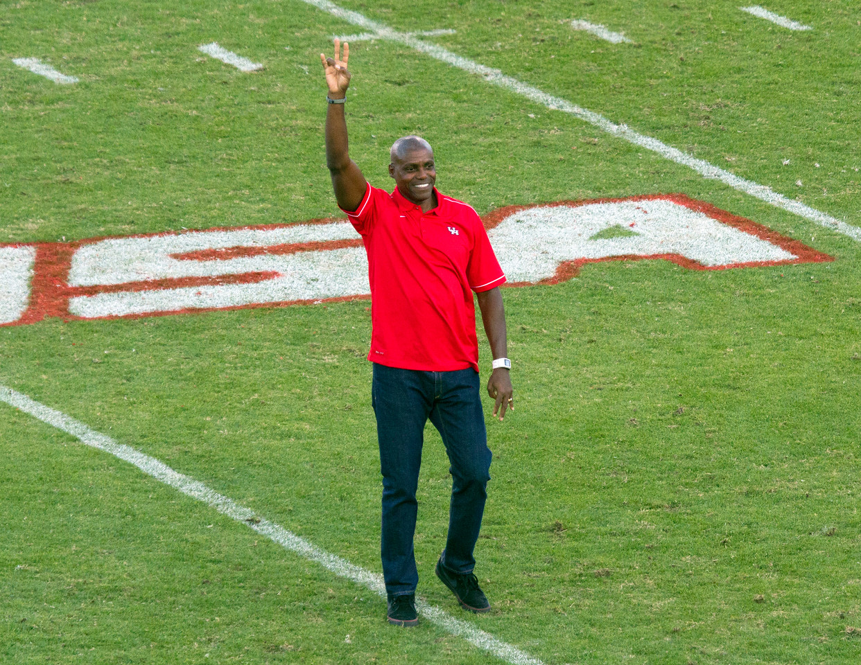 The great Carl Lewis