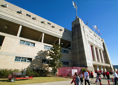 Built in 1942.  It's been there for 70 years.  It was first named The Public School Stadium