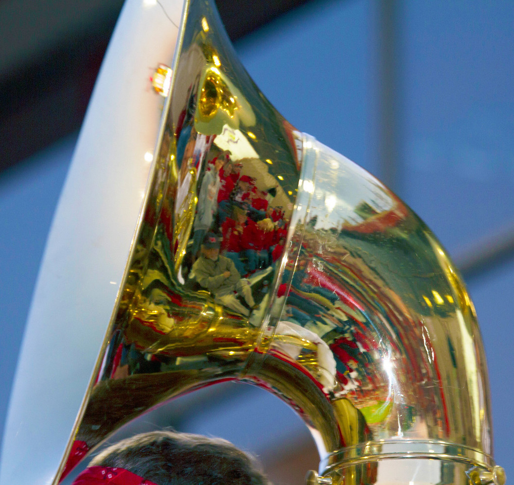 Tuba bell reflection
